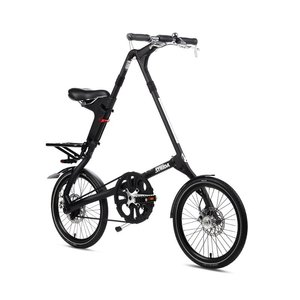 Strida SX QR PLUS 무광 블랙 Matt Black (18인치)
