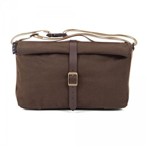 Bropton Roll Top Bag Waxed Canvas 롤탑백 왁스드 캔버스