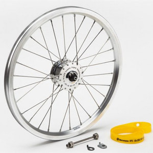 Brompton Front Wheel with Hub Dynamo w/o Fittings SON SON 허브다이나모 클래식