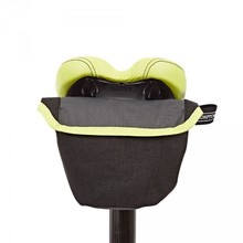Brompton Saddle Pouch - Black, Grey w Lime Green 새들파우치 블랙,그레이+라임그린